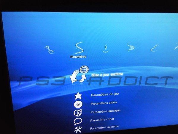 mise à jour ps3 en USB