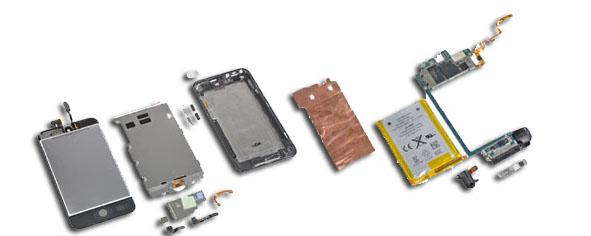 Pièces détachées iPod Touch