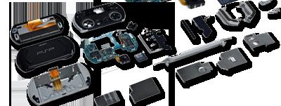 Pièces détachées PSP Slim