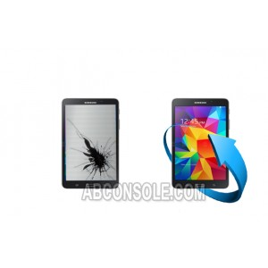 """Remplacement LCD + Vitre tactile Galaxy Tab S 8,4"""" (T700) Noir"""