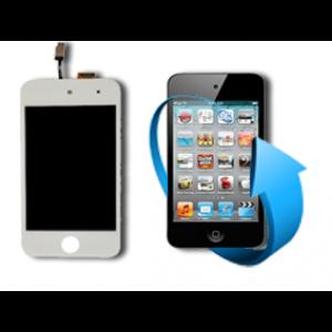 Remplacement écran LCD + tactile Ipod touch 4 (blanc)