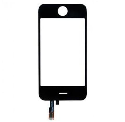 Vitre  tactile Iphone 3G (noire)
