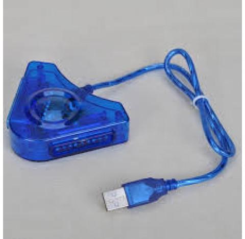 Adaptateur 2 manettes PS2 pour PS3 et PC