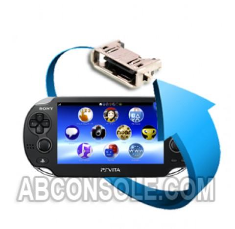 Remplacement connecteur de charge PS Vita