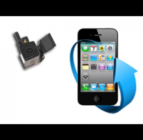 Remplacement camera arrière Iphone 4