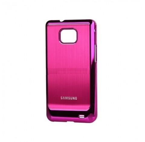 Coque de protection electro pour Galaxy S2 (rose)