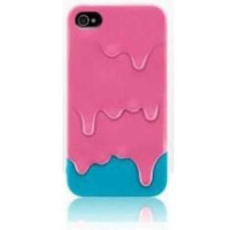 Coque de protection Icecream iphone 4 (rose)
