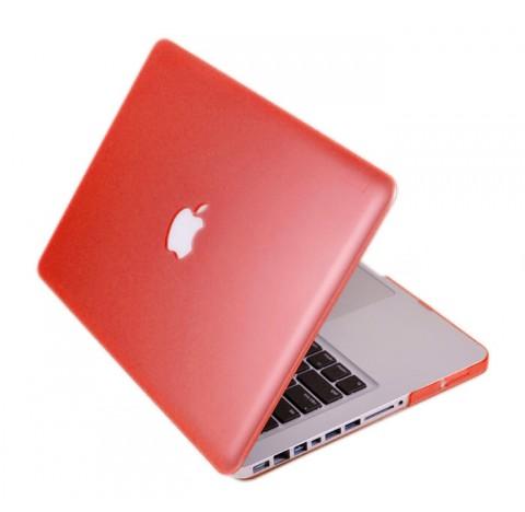 """Coque de protection pour Macbook Pro 13.3"""" (rouge)"""