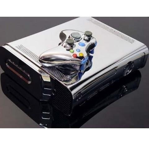 Boitier tuning Xbox 360 Chromé