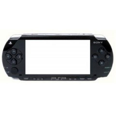 Façade PSP noire
