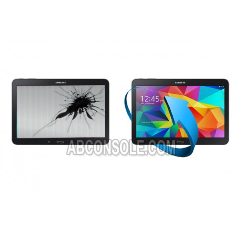 """Remplacement LCD + tactile Galaxy Tab 4 10,1""""(T530) Noir"""