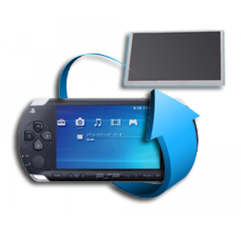 Remplacement écran LCD PSP 1000