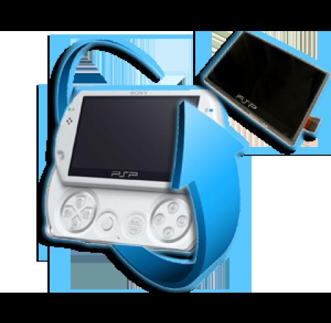 Remplacement écran LCD PSP GO