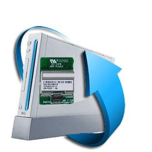 Changement carte bluetooth Wii