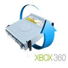 Remplacement lecteur xbox 360