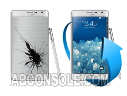 Remplacement écran Samsung Galaxy Note Edge Blanc (N915)
