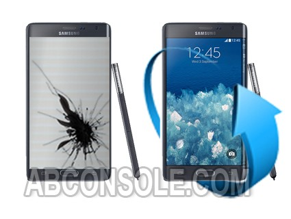 Remplacement écran Samsung Galaxy Note Edge Noir (N915)