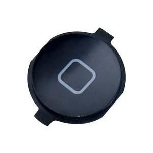 Bouton home iphone 3G/3GS (noir)