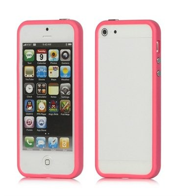 Bumper pour iphone 5 (rose)