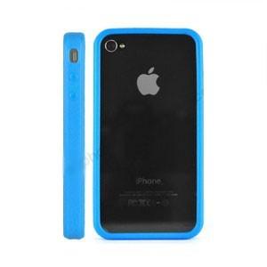 Bumper pour Iphone 4 (bleu)