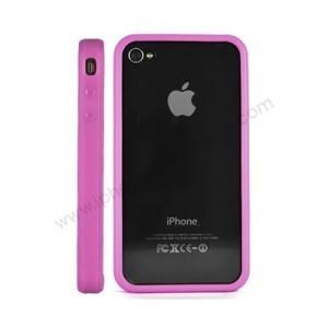 Bumper pour Iphone 4 (rose)