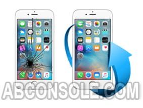 Remplacement écran iPhone 6S Plus blanc