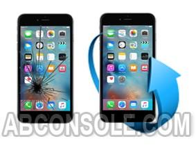 Remplacement écran iPhone 6S Plus noir