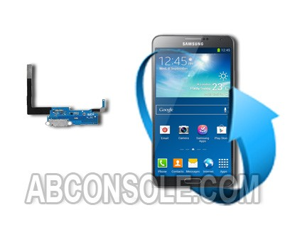 Remplacement connecteur charge Samsung Galaxy Note 4