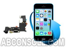 Remplacement connecteur charge, prise jack et micro iPhone 5C