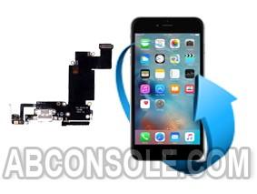 Remplacement nappe connecteur charge, micro et écouteurs Iphone 6S Plus