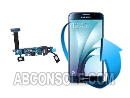 Remplacement connecteur de charge Samsung Galaxy S6 EDGE+