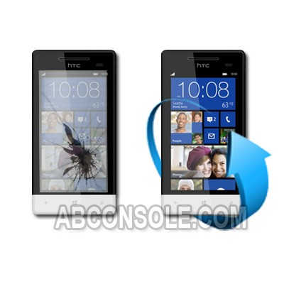 Remplacement écran HTC 8S