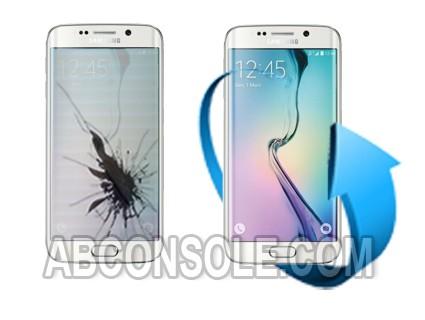 Remplacement écran Samsung Galaxy S6 EDGE+ (blanc)