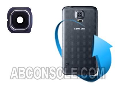 Remplacement lentille caméra arrière Samsung Galaxy S5 - I9605 / G900