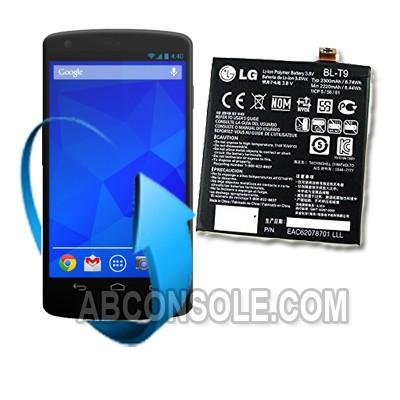 Remplacement batterie LG Nexus 5