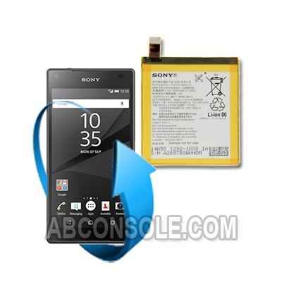 Remplacement batterie Sony Xperia Z5 PREMIUM