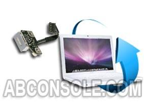 """Remplacement connecteur d'alimentation Macbook 13"""""""