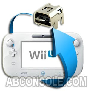 Remplacement connecteur charge Gamepad Wii U