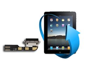 Remplacement nappe connecteur charge Ipad 2