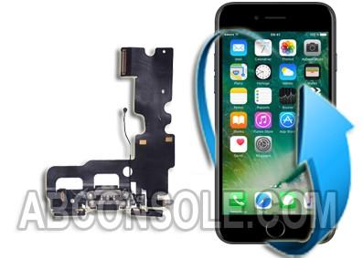 Remplacement nappe connecteur charge, micro et écouteurs iPhone 7 Plus