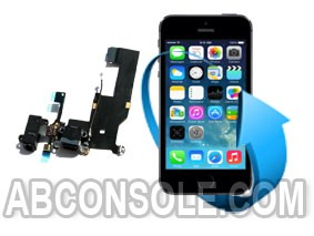 Remplacement connecteur charge, prise jack et micro iPhone 5S