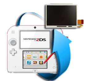 Remplacement bloc écran LCD Nintendo 2DS