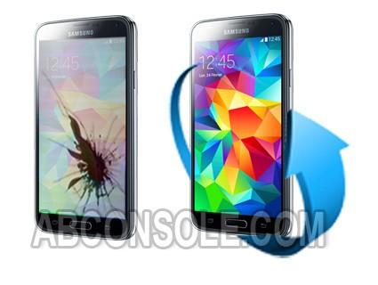 Remplacement écran Samsung Galaxy S5 Mini noir (G800F)