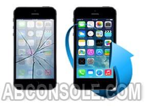 Remplacement écran iPhone 5S noir