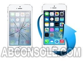 Remplacement écran iPhone SE blanc
