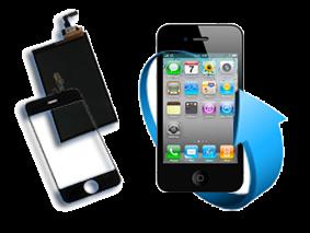 Remplacement écran tactile + LCD Iphone 4S (noir)