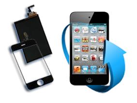 Remplacement écran LCD + tactile Ipod touch 4