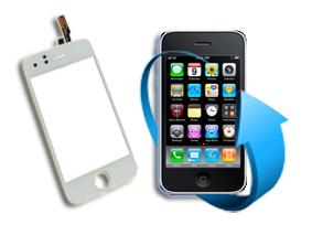 Remplacement vitre tactile Iphone 3GS (Blanc)