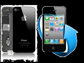 Remplacement écran + vitre arrière iPhone 4S (Noir)