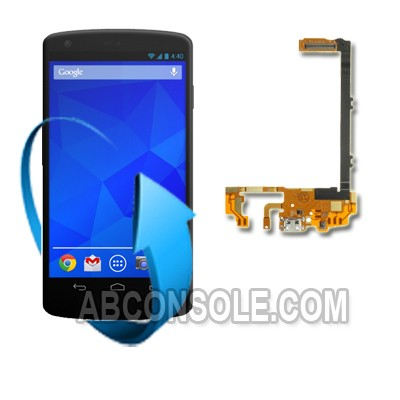 Remplacement connecteur charge LG Nexus 5